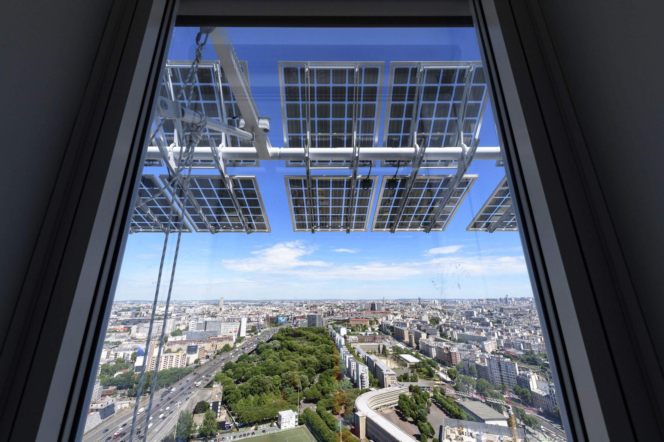 © Laurent ZYLBERMAN Graphix Images - The New Court House of Paris - Bouygues Construction by Renzo Piano