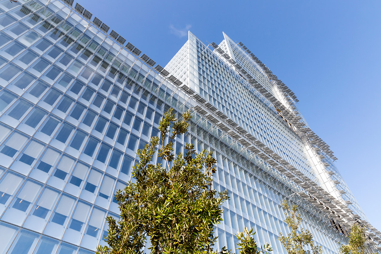 © Laurent Blossier - The New Court House of Paris - Bouygues Construction by Renzo Piano